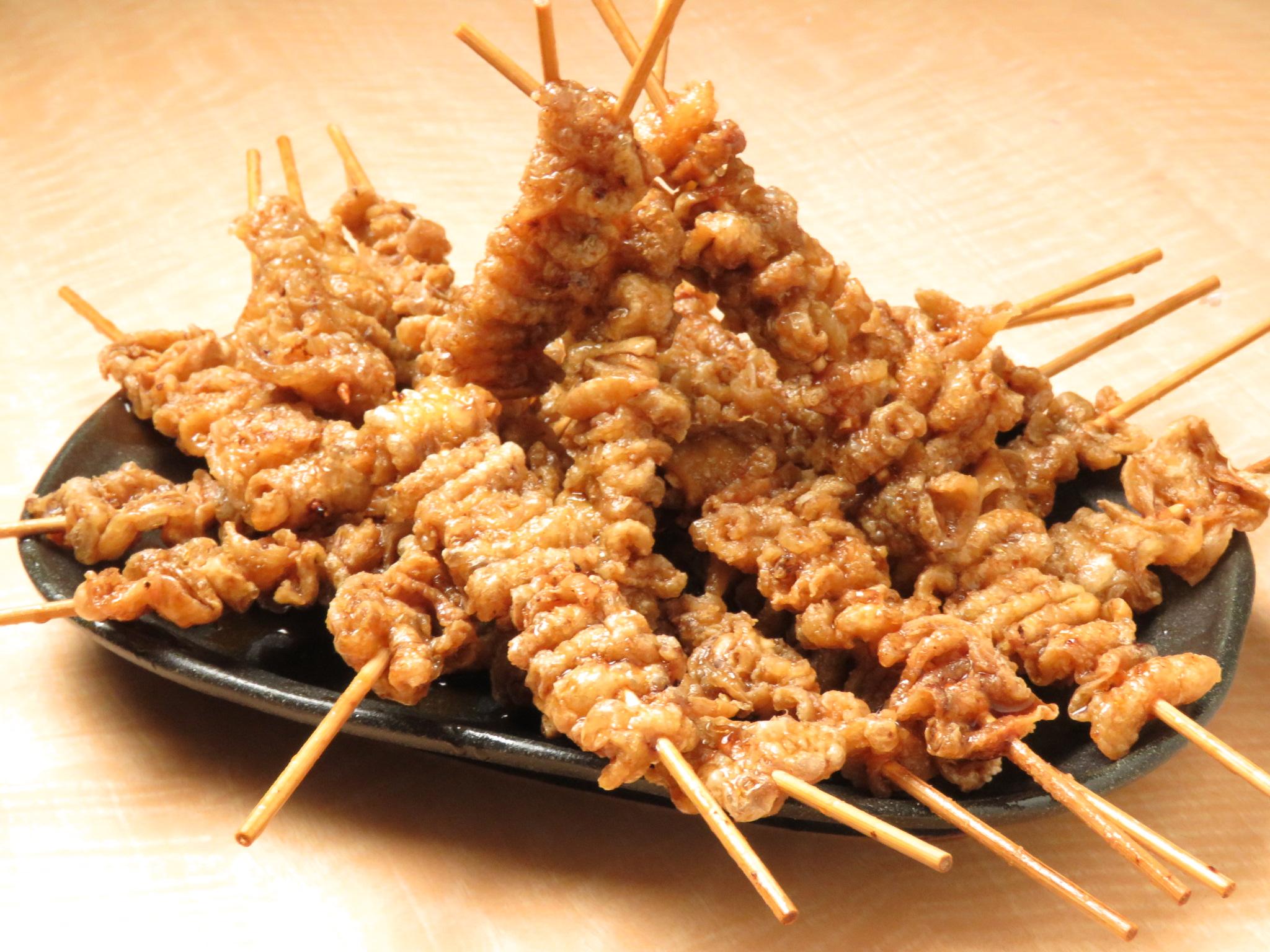 目黒の鶏料理専門店[とりいちず]の絶品とり皮